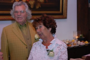 oudste broer Jan met zijn vrouw Riny