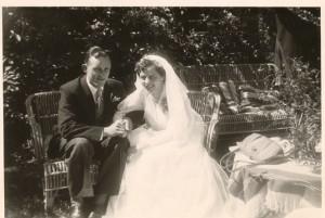 Mijn zus Annie met haar man NICO